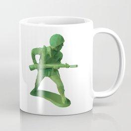 Toy Soldier Polygon Art Coffee Mug