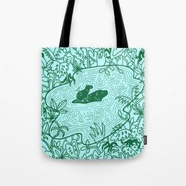 Capybara Jungle Tote Bag