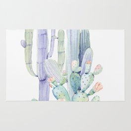 Mixed Cacti 2 #society6 #buyart Rug