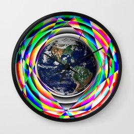 Earth Vibes Wall Clock