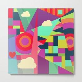 Geometric#7 Metal Print