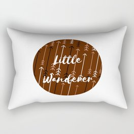 Won't You Wander Back to Me? (Coffee & Cream) Rectangular Pillow