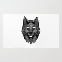Wolf Head Wolves Pack Alpha Carnivore Mammals Fur Animals Wildlife Forest Nature Gift Rug