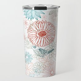 Floral dreams Travel Mug