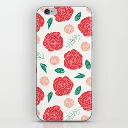 Moody Floral iPhone Skin