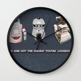 These Are Not the Droids You're Looking For... Wall Clock