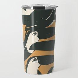 Black birds Travel Mug