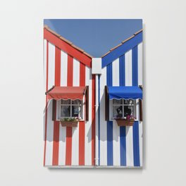 the house of stripes Metal Print