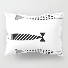 Line of fish Pillow Sham