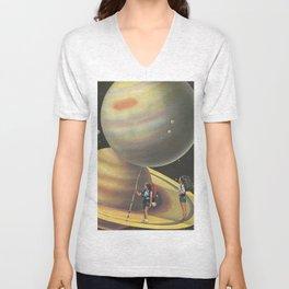 Explorers of the Universe Unisex V-Neck