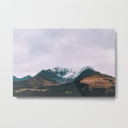 Alaskan Mountain Vista II Metal Print