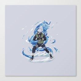 Kakashi Jutsu Canvas Print