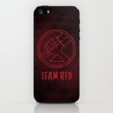 Team Red iPhone & iPod Skin