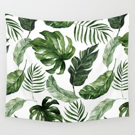 Tropical Leaf Wall Tapestry