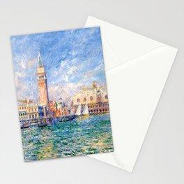 """Auguste Renoir """"Vue de Venise (Le Palais des Doges)"""" Stationery Cards"""