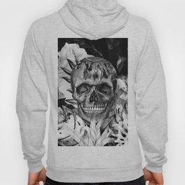 Black White Boho Skull Hoody