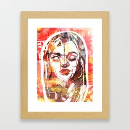 South 5th and Bedford Framed Art Print