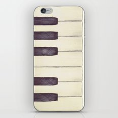 Ebony and Ivory iPhone & iPod Skin