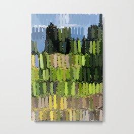 North Vancouver green & blue Metal Print