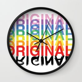 Original. Wall Clock
