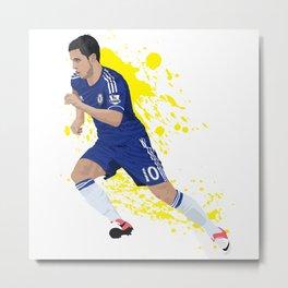Eden Hazard - Chelsea FC Metal Print
