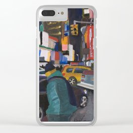 Downtown Flow Clear iPhone Case