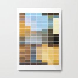 Countryside - 720 series Metal Print