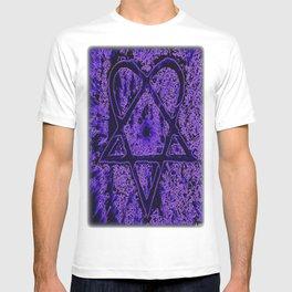 Violet Thoughts - Heartagram T-shirt
