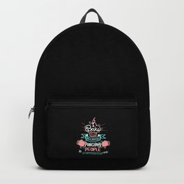 I Bake Because Punching People Is Frowned Upon. - Gift Backpack