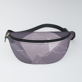 ABSTRACT STORM Fanny Pack