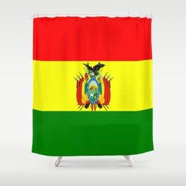 Flag of Bolivia Shower Curtain