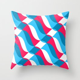 Geofluro #1 Throw Pillow