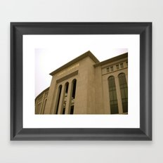 161 st and River ave Framed Art Print