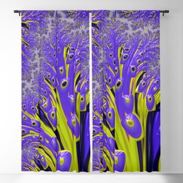 Purple People Eater Invasion Blackout Curtain