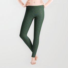 Vintage Green Leggings