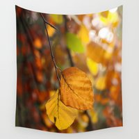 indian Wall Tapestries featuring Indian Summer by UtArt
