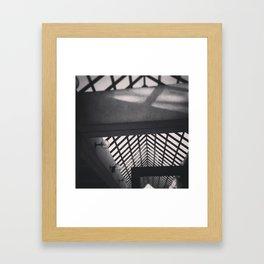 Metro Station Framed Art Print