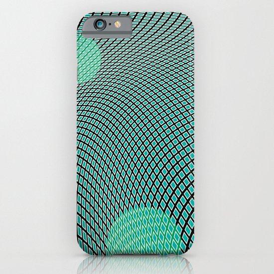 mod-century grid iPhone & iPod Case