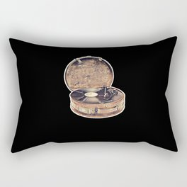 Record Player Vintage Rectangular Pillow