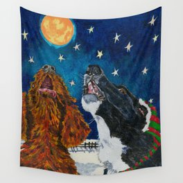 The Moon Dog Singers Wall Tapestry