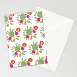 Floral Harmony Stationery Cards