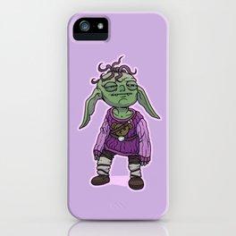 Cozy Goblin iPhone Case