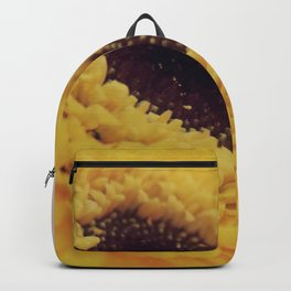 Yellow Germini close up 2 Backpack