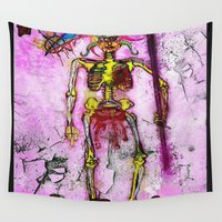death Wall Tapestries featuring Death  by RDsix3