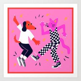 Disco Queens Art Print