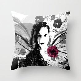 Etude in dark Throw Pillow