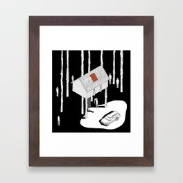 Hereditary by Ari Aster and A24 Studios Framed Art Print