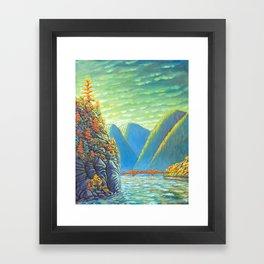 Nelson Lakeview Framed Art Print