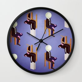 Conversation of the Day Wall Clock