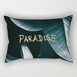 Ficus Elastica PARADISE #1 #decor #art #society6 Rectangular Pillow